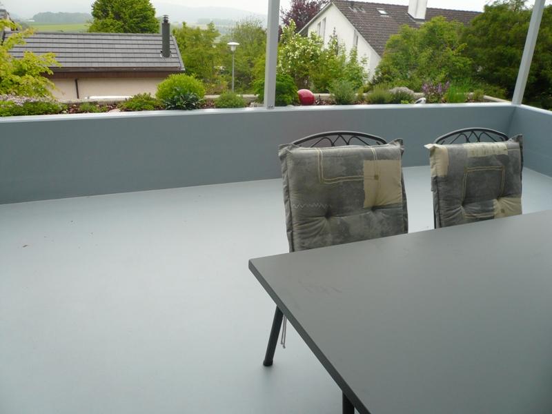 Wintergarten Terrassenbeschichtung Abdichtung Wegmann Art Floor